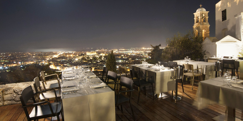 Best upscale restaurants in athens why athens city guide for Top of the terrace restaurant
