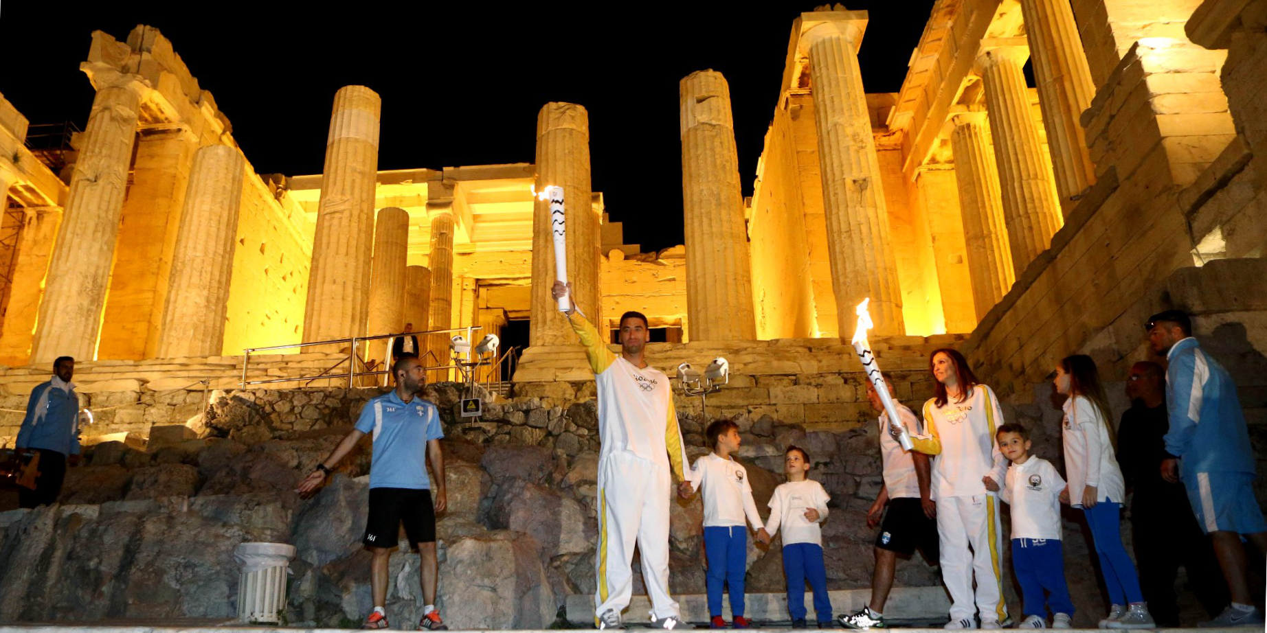 Olympic Flame Why Athens