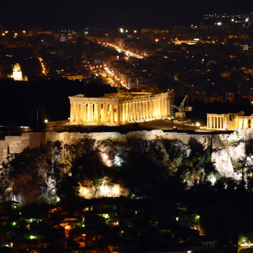 The Acropolis Parthenon photograph Why Athens City Guide