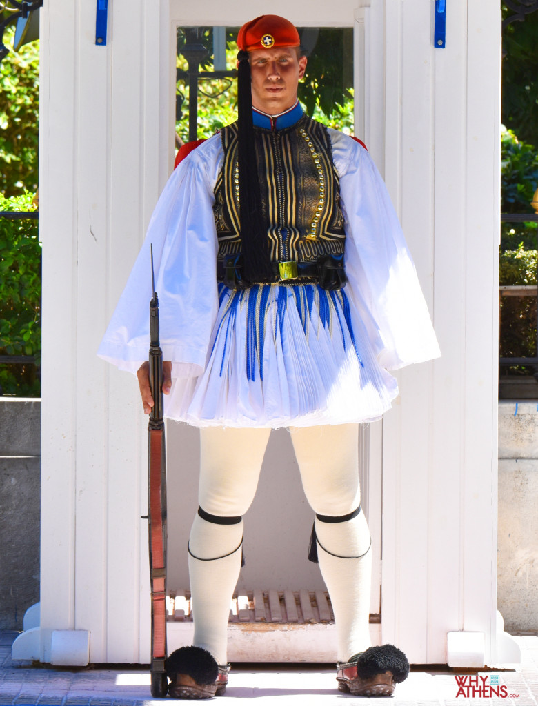 Evzones uniform Greek soldier costume