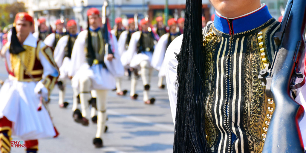 Evzones Uniform Fermeli Greek Soldier Athens
