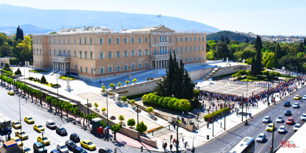 Greek Parliament Hellenic Why Athens