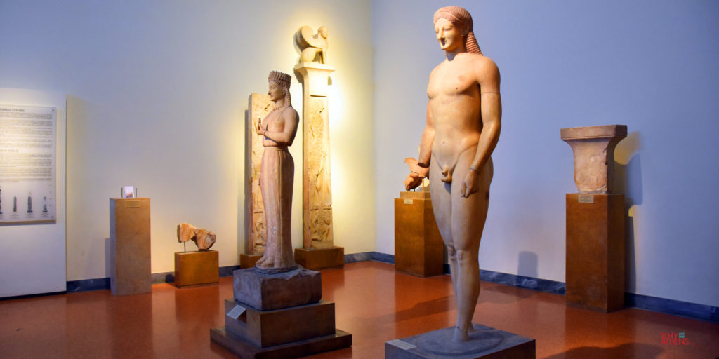 National Archaeological Museum of Athens Kore Kouros