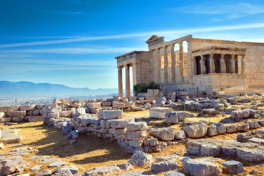 Acropolis of Athens Caryatids Information