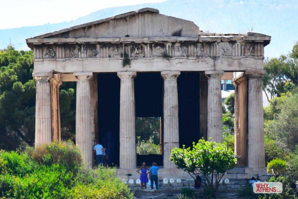 Ancient Agora Hephaestus Temple