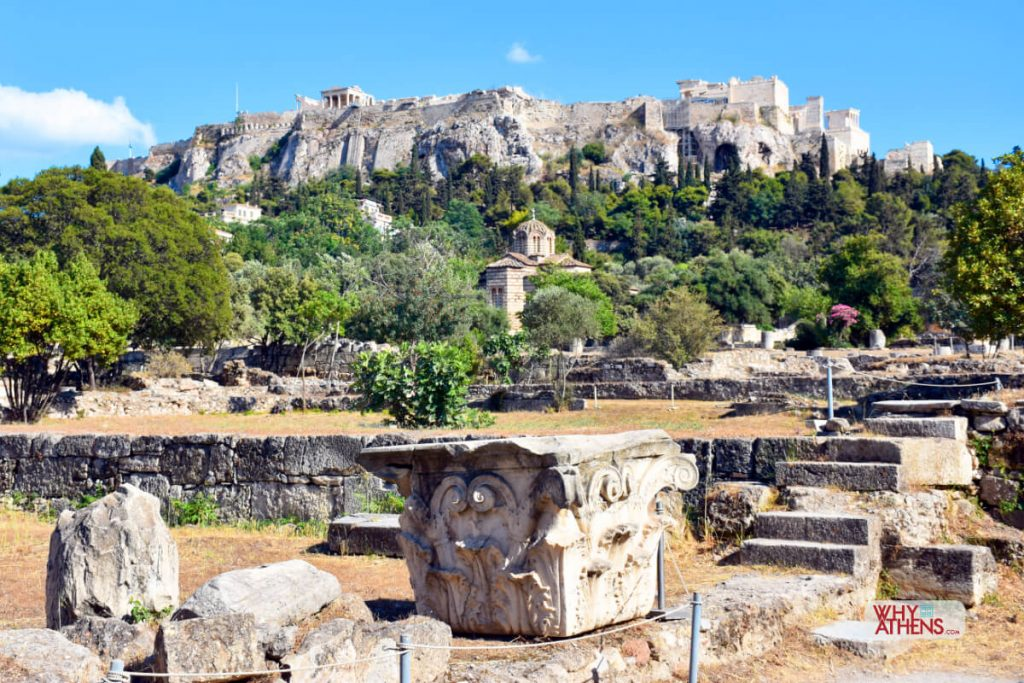 Ancient Agora Stoa Church