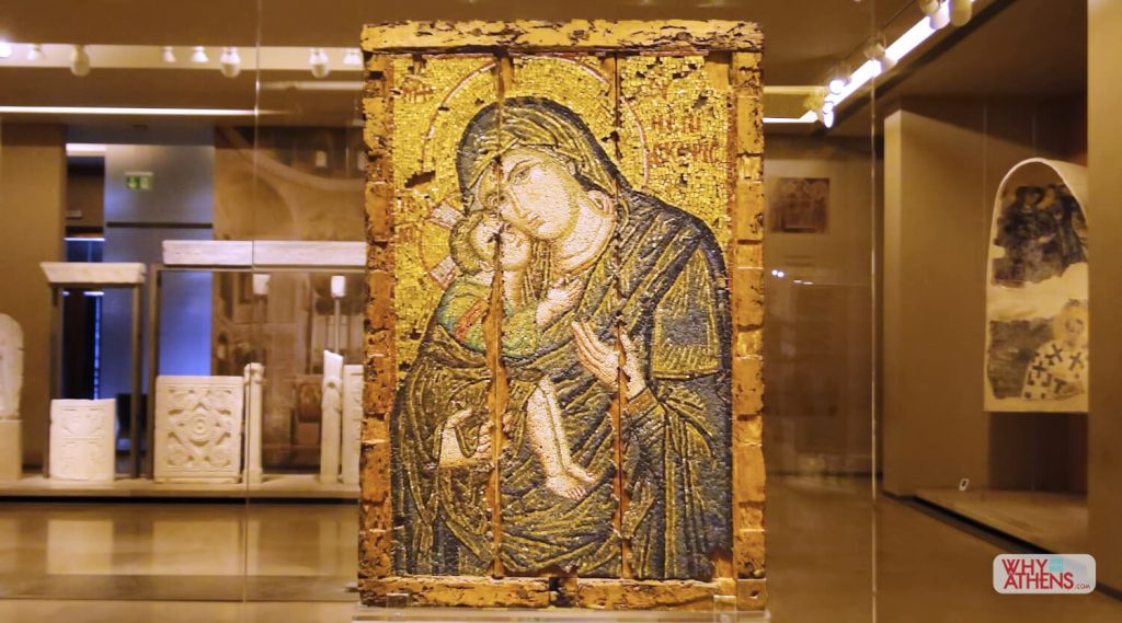 A look inside the Byzantine Museum  Why Athens