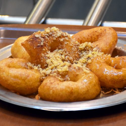 Greek Donuts Loukoumades Athens