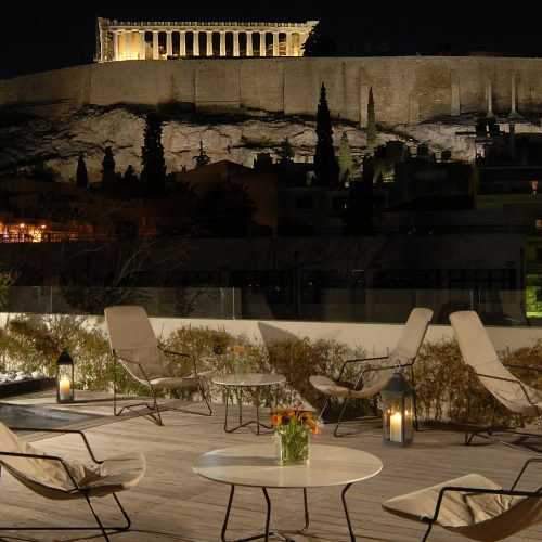 Herodion Hotel Athens Rooftop