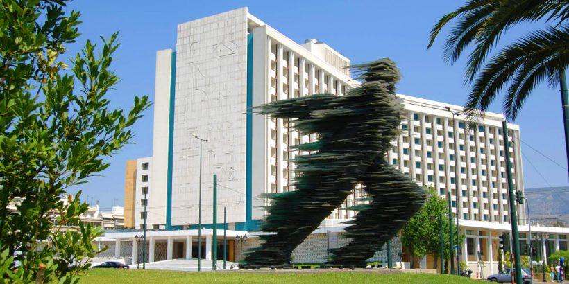 Hilton Hotel Athens Exterior Photo