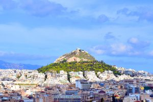 Mt Lycabettus Hill Athens