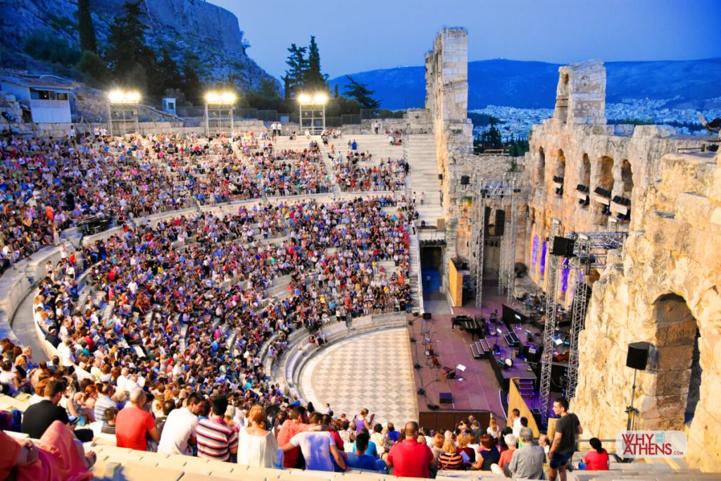Odeon of Herodes Atticus Athens Events
