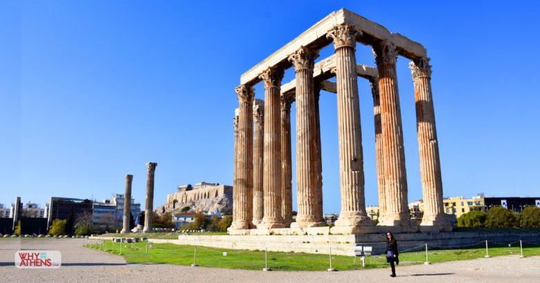 Temple Olympian Zeus Athens