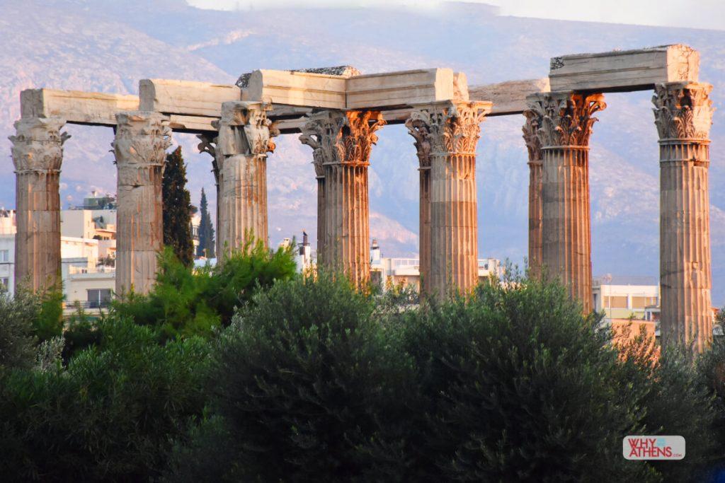 Temple Olympian Zeus Athens I