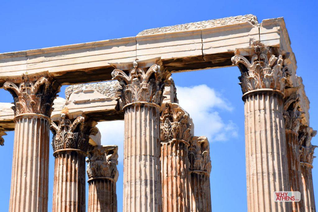 Temple Olympian Zeus Athens III