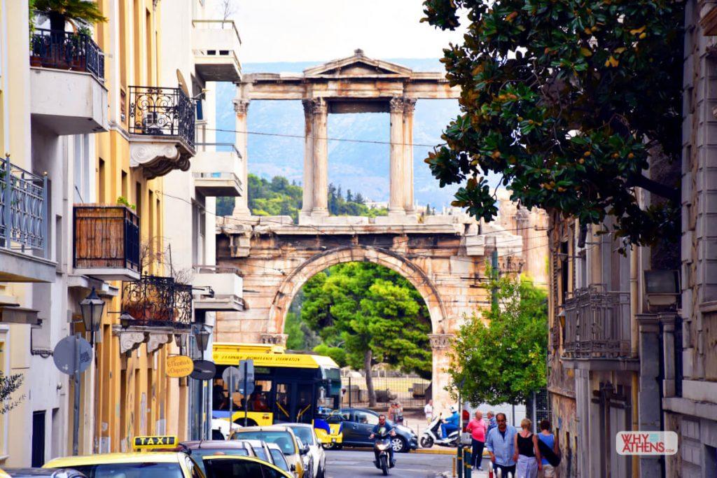 Temple Olympian Zeus Hadrians Arch