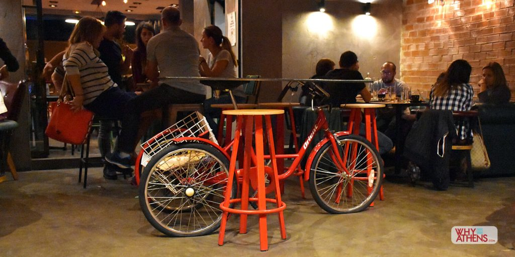 Athens Nightlife Bars Flamme Rouge