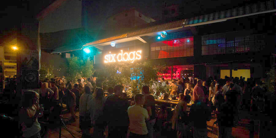 Athens Nightlife Bars Six Dogs