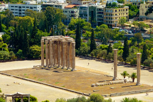 Temple of Olympian Zeus Why Athens