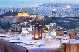 Best Restaurants in Athens Orizontes Lycabettus Hill