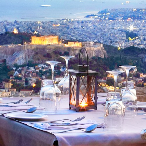 Best Restaurants in Athens Orizontes Lycabettus Hill