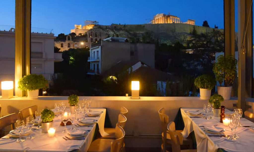 Best Upscale Restaurants in Athens Strofi