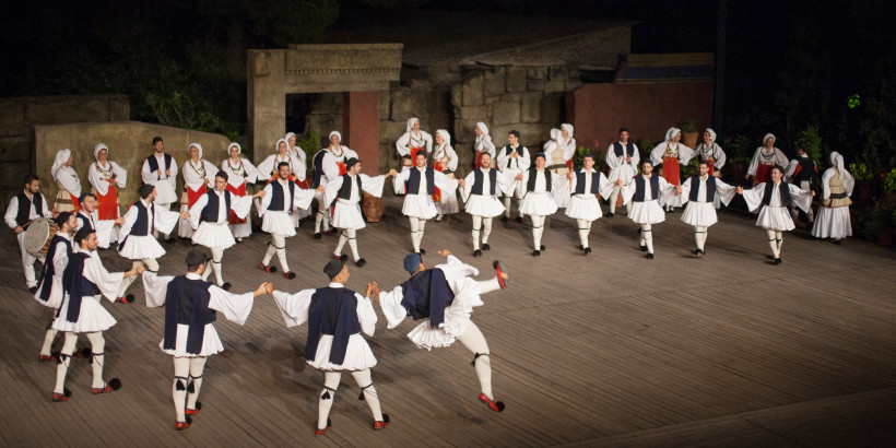 Traditional Greek dancing why athens events