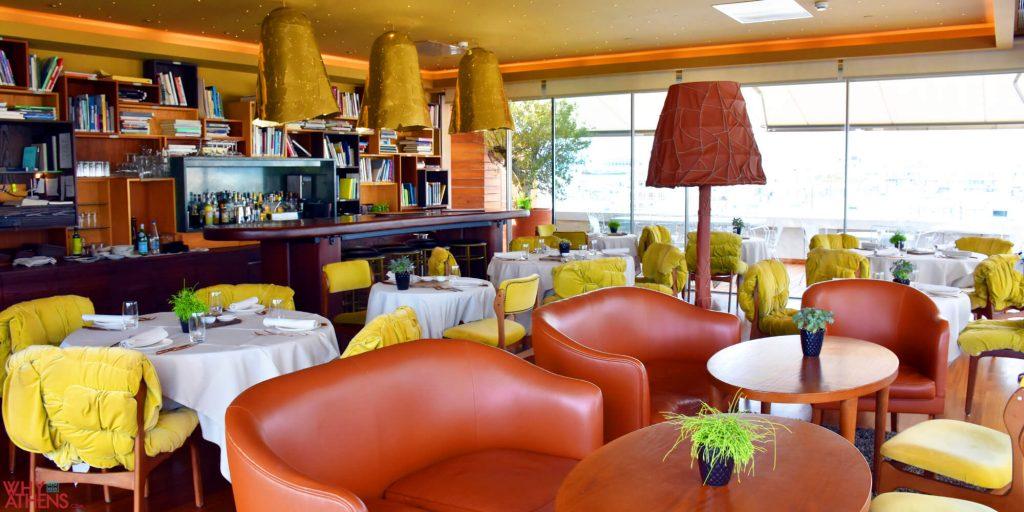 New Hotel Athens Art Lounge