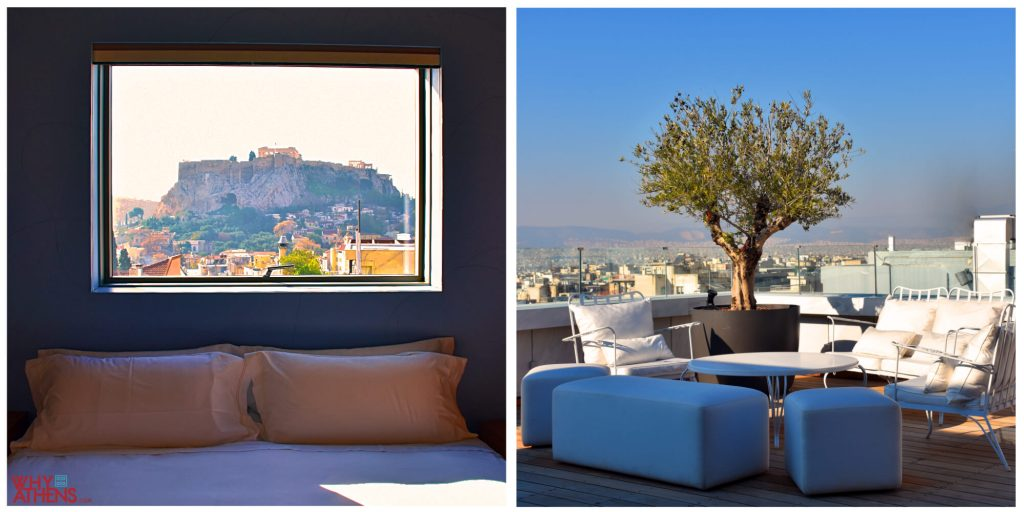 New Hotel Athens Penthouse Suite