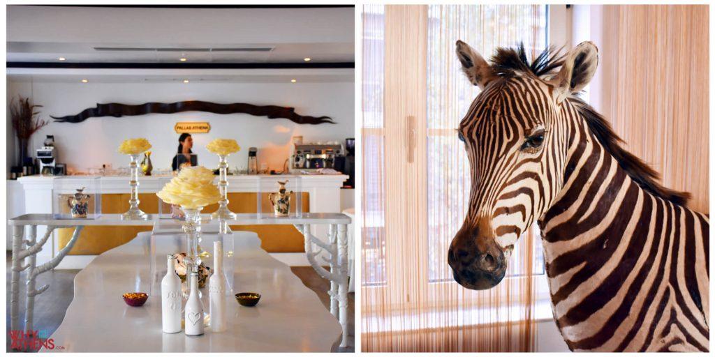 Pallas Athena Hotel Athens Restaurant Interior