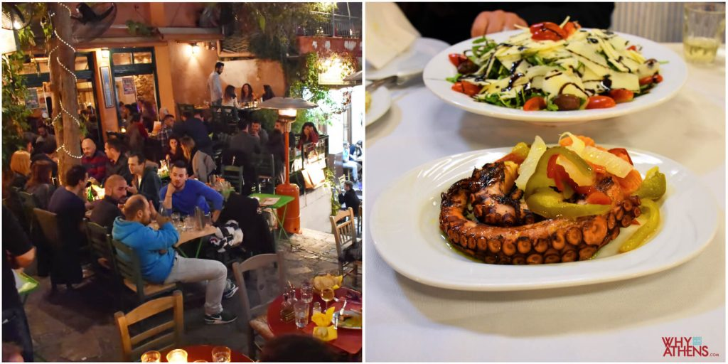 Where to eat in Athens Esperides