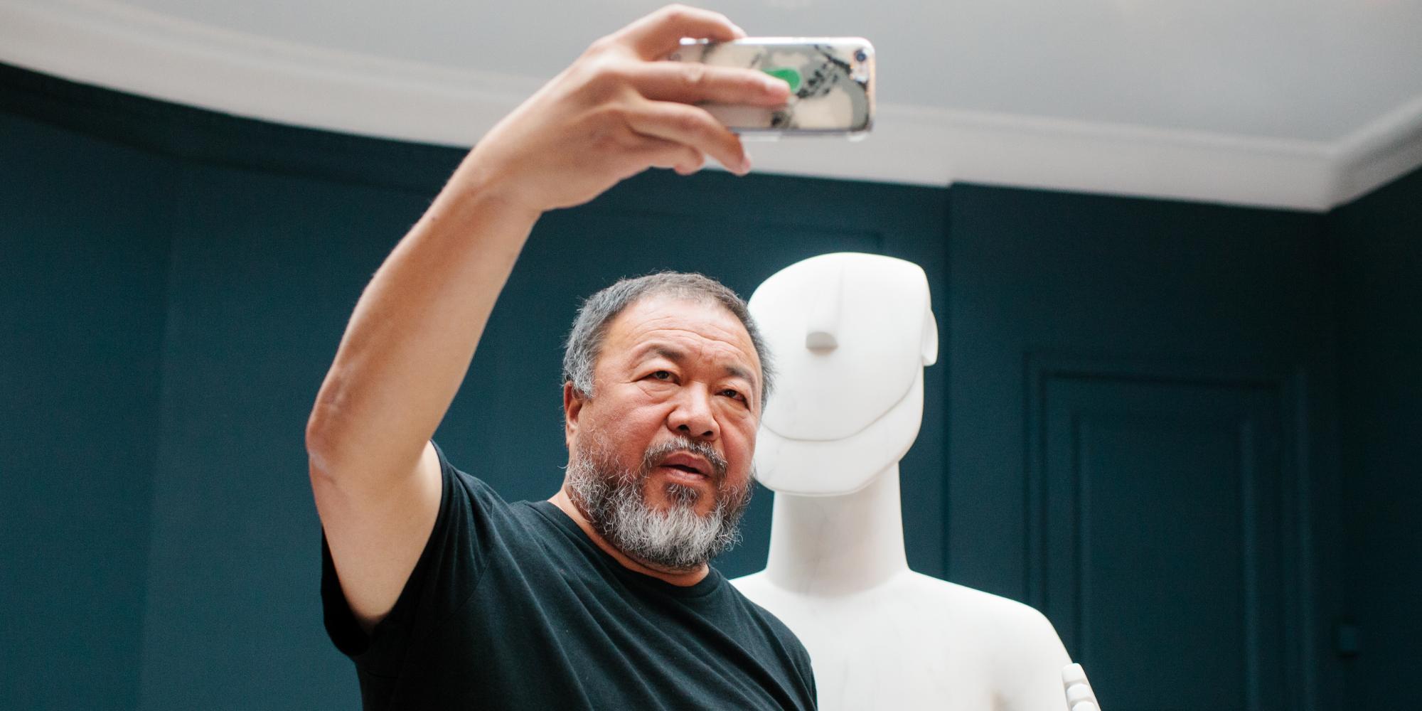 Ai Weiwei Cycladic why athens city guide