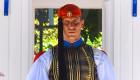 Evzones Uniform Greek Soldier Athens