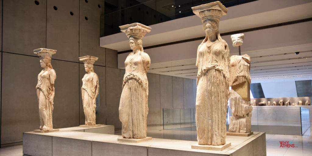 Acropolis Museum Caryatids