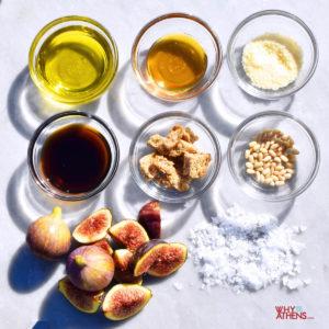 fig salad recipe Greek meze