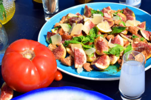 fig salad recipe Greek Meze