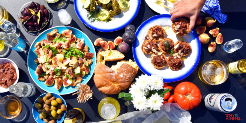 Ancient Greek Meze Why Athens City Guide