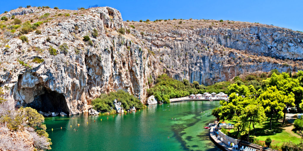 Best Athens Beaches Lake Vouliagmeni