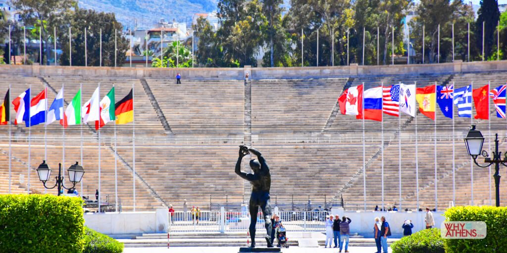 Athens Greece Discus Thrower Photo Stories