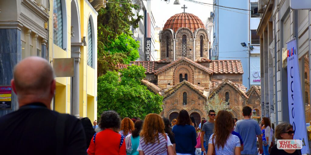 Athens Greece Photo stories Panagia Kapnikarea