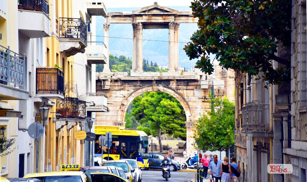 Athens Greece Hadrians Arch