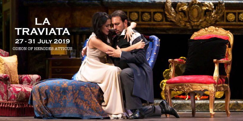 LA TRAVIATA Odeon Herodes Athens Festival National Opera