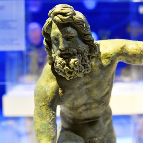 Poseidon Bronze Odysseys National Archaeological Museum Athens