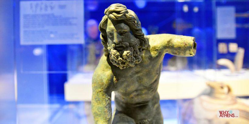 Poseidon Bronze Odysseys National Archaeological Museum Athens