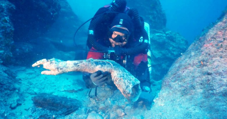 Antikythera Shipwreck dive exhibition Athens