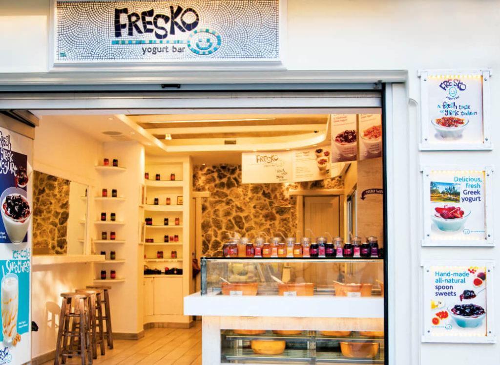 Greek Yogurt in Athens Fresko
