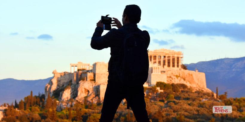 Athens Acropolis Pnyx Hill
