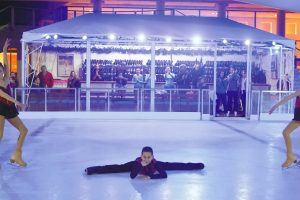 Ice skating in Athens