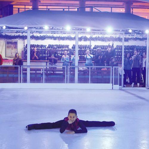 Ice skating Megaron Athens