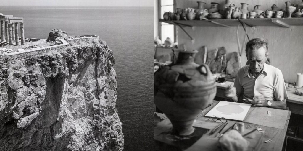 Robert McCabe Exhibition Lindos